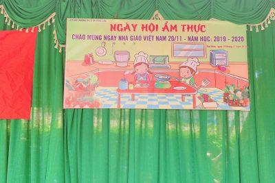 Hội chợ ẩm thực chào mừng ngày Nhà giáo Việt nam 20/11