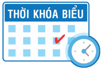 TKB HK I NAM HỌC 2019 – 2020