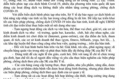 TUYÊN TRUYỀN PHÒNG CHỐNG DỊCH COVID 19, BỆNH BẠCH HẦU,…